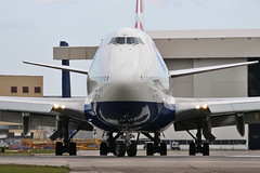 British Airways ,Boeing 747-436, G-BNLL (Krzysztof Kaczala / flcriminal) Tags: heathrow aviation ba britishairways lhr b747 egll gbnll boeing747436