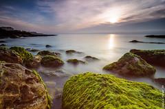 Green rock (Carlos J. Teruel) Tags: nikon mediterraneo paisaje tokina amanecer nubes lightroom marinas x64 filtros hitechfilter xaviersam singhraynd3revgrad carlosjteruel