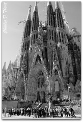 La Sagrada Famlia (ctofcsco) Tags: 28300mm 5d barcelona canon explore familia sagrada spain superzoom rememberthatmomentlevel1 black white gaudi landscape cityscape seascape scape landscapes ef28300mm f3556l is usm ef28300mmf3556lisusm telephoto classic eos5d eos5dclassic 5dclassic 5dmark1 5dmarki monochrome blackandwhite bw renown landmark special famous historic best wonderful perfect fabulous great photo pic picture image photograph