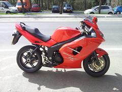 TRIUMPH Sprint ST 1050 (supiido.com) Tags: red st rouge triumph sprint 1050 supiidocom supiido
