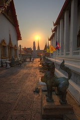 ~thailand bangkok,   WAT PHO~ (PS~~) Tags: trip travel sunset vacation sky holiday building art tourism architecture thailand temple photography gold golden asia tour place earth spires bangkok buddha buddhist religion sightseeing buddhism grand palace tourist journey po planet  sight reclining traveling southeast ornate wat visiting pho statuary exploration hindu siam  touring deity bkk hindi illuminate thep   travelphotography plated rattanakosin krung   kingdomofthailand  totallythailand historyremains