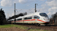 403 529 Voerde 13.04.2013 (hansvogel51) Tags: ice train germany deutschland eisenbahn db voerde ice3 elektrotriebwagen br403