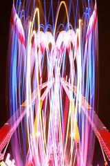 IMG_8129 LA FOIRE DU TRONE (WORLD OF FMR) Tags: light color wheel night fair lumiere nuit foire couleur roue foiredutrone blinkagain
