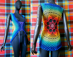 Crochet Summer Vest - Rainbow Tie Dye Effect Flower Mandala (babukatorium) Tags: arcobaleno art babukatorium babypink blue bohemian bolero bow burgundy cardigan chaleco circle colete color colorful coprispalle crochet crochê darkblue doily emeraldgreen fashion fattoamano flower fuxia ganchillo gilet gradient green haken handmade hippie horgolt häkeln lace mandala moda multicolor net octagon ombre oneofakind orange pink psychedelic purple rainbow red retro ribbon rose royalblue shade shades shrug star style summer sweater teal thread tığişi top turquoise uncinetto uvgreen vest vintage violet waistcoat whimsical yellow かぎ針編み
