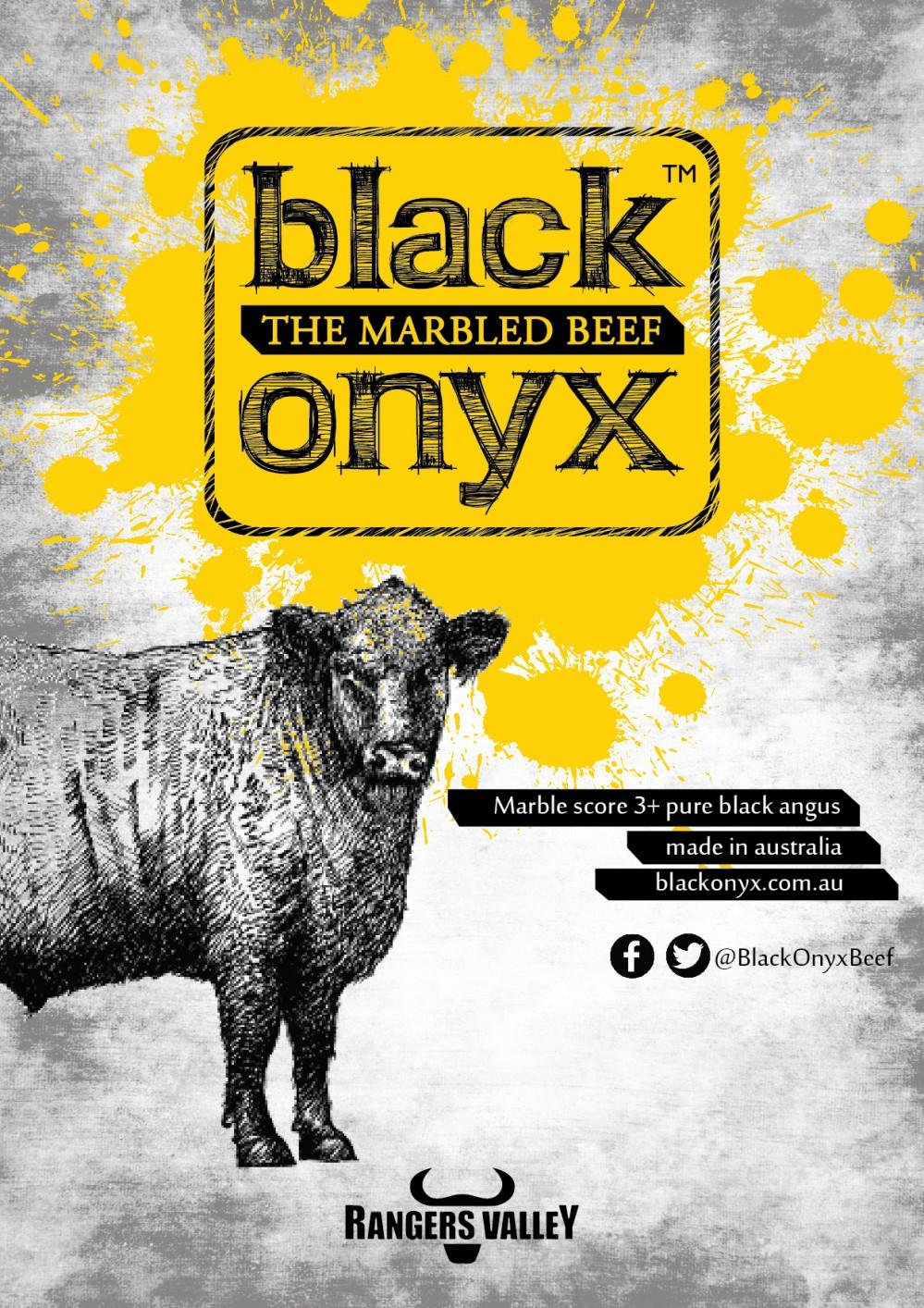 THƯỞNG THỨC BÒ BLACK ONYX THƯỢNG HẠNG