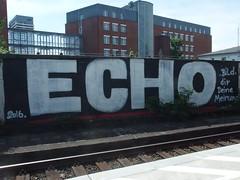 ECHO (mkorsakov) Tags: mlheim hbf bahnhof graffiti tagging piece echo crew