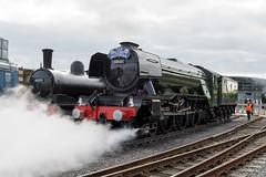 What A Blast ! (Echo Charlie Three Zero) Tags: nrmshildon steamengines steam locomotives nikond600 flyingscotsman exhaust shildonshedbash 60103
