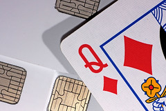 The Money Queen - [MacroMonday_20160718] (Arranion) Tags: macro up diamonds canon cards eos close indoor queen icc mondays emv 40d macromondays