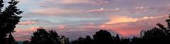 Nice Eastern Evening Sky (A.G. Buron Photography) Tags: clouds cloud cloudysky trees armandburon outdoor bluesky panorama vancouver vancouverbc britishcolumbiacanada surreybc surrey