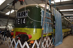 """34 years to the day since 55009 and 55019 were handed over from BR to the DPS, their third Deltic D9015 """"TULYAR"""" is seen at Barrow Hill (colin9007) Tags: barrow hill roundhouse staveley english electric napier deltic preservation society type 5 class 55 d9015 55015 tulyar dps"""