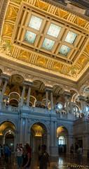 The Library of Congress (zach.pendleton) Tags: library congress usa america capitol panorama canoneosrebelsl1 canon washington dc family timeoff trip vacation
