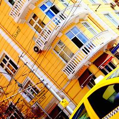 yellow-archi-building-europe-bulgaria-sofia-503-square-sig (Touma) Tags: europe architecture urban color bulgaria bulgarie holiday vacation yellow sofia touma toumay art   building