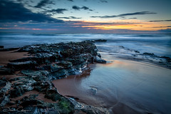 Warriewood Sunrise (Donovan's photos) Tags: warriewood beach sunrise rocks surf sand