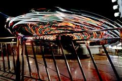 DSC02251 (Moodycamera Photography) Tags: canadiannationalexhibition cne toronto ontario nightphotography rides slowshutterspeed long exposurerlights ferriswheel swing turning twisting spining amusment horse hdr