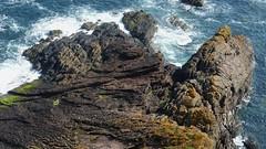 Hutton's unconformity : Siccar Point (Edinburgh Nette) Tags: siccar point huttons unconformity geology seacapes june16 ribbet