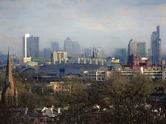 london skyline take 2 (dick_pountain) Tags: london skyline north canarywharf franciscrickinstitute kingscross parliamenthill