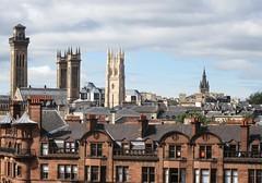 Glasgow views (rbjag71) Tags: glasgow glasgowwestend tower steeple church architecture city canonpowershot sx610hs