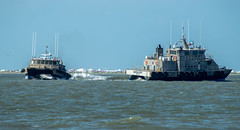 LONE STAR and BAYOU CITY (Matt D. Allen) Tags: pilotboat houstonshipchannel bolivar galveston shipspotting