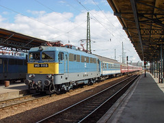 "Train ""Ovidius""  Budapest (Trains-En-Voyage) Tags: mavv43 ovidius budapest cfr mav"