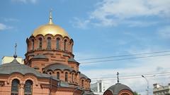 Novosibirsk. August 2016 (nikolasrybin) Tags: russia august summer siberia traveling novosibirsk urban street 2016 architecture olympus pen epl3 religion orthodoxchurch orthodoxy