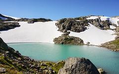 Abkhlung (Krnchen59) Tags: gletscher see sea eis ice schnee stone wasser blau blue folgefonnanationalpark norwegen norway krnchen59 elke krner urlaub sony