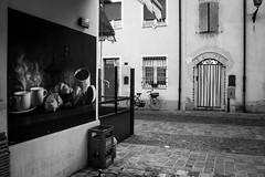 Fragrance (Giorgini Luca) Tags: caff coffee street bw cesenatico noiretblanc
