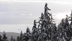 sea to sky country. (jared_vaughn) Tags: landscape outdoor cypressmountain britishcolumbia explorebc lumix dmcgx7 45mm snow mountains barge