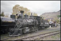 D&RGW C-19 2-8-0 346 (TrainsandTravel) Tags: usa tatsunis vereinigtestaaten narrowgauge voieetroite schmalspur coloradorailroadmuseum drgw c19 280 346