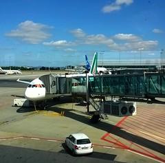 Si parte! (Fata_Ignorante) Tags: praha praga prague a320 airbus alitalia aeroporto ruzy viaggio vacanze holidays