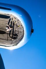 ThunderOverMichigan2016-3893.jpg (CitizenOfSeoul) Tags: 2016 airshow aviation breitlingteam flugplatzfest metrodetroit michigan thunderovermichigan usa warbird willowrunairport wings aircraft mirror grumman tbm3e avenger