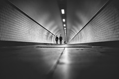 Passerby (BWUA Photography) Tags: street tunnel passerby antwerp