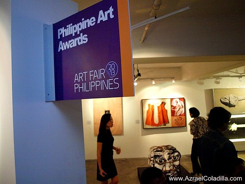 Art Fair Philippines 2013 - preview day - photos by Azrael Coladilla, online publisher of Azrael's Merryland Blog