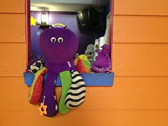 Smiley Octopus (Theen ...) Tags: kids children toy cafe purple breath octopus adelaide 4s hogs iphone toyroom theen gougerstreet