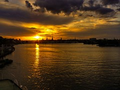 bye bye Stockholm (werner boehm *) Tags: sunset ferry stockholm wernerboehm