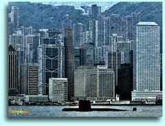 Hong Kong Harbor (stephgum32807) Tags: texture hongkong harbor ourtime vividimagination asiantensions