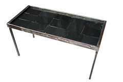 "Slate and Acrylic Top Coffee Table - Diagonal View • <a style=""font-size:0.8em;"" href=""http://www.flickr.com/photos/80301931@N08/8466289723/"" target=""_blank"">View on Flickr</a>"