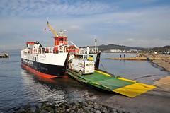 CALMAC MV LOCH RANZA, At Largs (Time Out Images) Tags: scotland north loch calmac mv ayrshire largs ranza ayrshirecoast