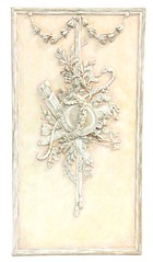 39. Large French Architectural Panel with Rococo Style Relief Carving