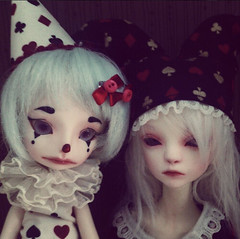 Bailey and Nieve (FRACKAFRONK) Tags: dc hilary bjd bella dollchateau