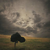 Wanderlust (Erin Graboski) Tags: sky green art texture field grass weather female clouds digital photomanipulation canon photography artist cloudy fineart stormy manipulation running wanderlust squareformat digitalphotography fineartphotography sprinting blackcape conceptualphotography squareformatphotography texturebylesbrumes eringraboski