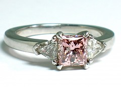 Fancy Pink Diamond (theappraiserlady) Tags: rosa engagementring pinkdiamond happyvalentinesday fancydiamond naturalfancypinkdiamond theappraiserladydiamante