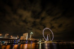 Flyer (ujjal dey) Tags: reflection singapore dreams slowshutter sigma1020mm canon500d ujjal gardensbythebay singaporeflyer ujjaldey ujjaldeyin