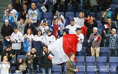 Supporters Français - 120506-189 (Francis Larrède Photography) Tags: hockey suomi finland helsinki finnland icehockey supporter fans jääkiekko supporters 2012 hartwallarena eishockey finlande worldchampionships ishockey teamfrance ijshockey hokej хоккей championnatsdumonde