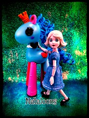 It's a Small World (Nataloons) Tags: china blue horse white girl movie toy miniature doll pacific little tea oz great mini disney biscuit tots mga powerful lala oopsie jakks tolly tollytots lalaloopsy lalaoopsie uploaded:by=flickrmobile flickriosapp:filter=nofilter