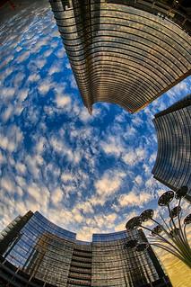 Clouds Vortex In Milano Porta Nuova
