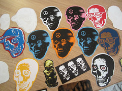 rxpackdetail (andres musta) Tags: art skull sticker stickerart zombie stickers squad rx zas collabs arrex