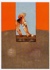 Francis Bacon - Triptych 1987 (central panel)
