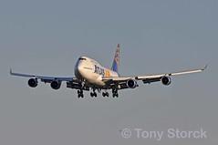 N464MC (bwi2muc) Tags: plane airplane flying aircraft atlas boeing 747 747400 bwi atlasair bwiairport kbwi bwimarshall n464mc