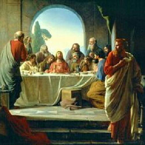لوحة العشاء الاخير لدافنشي