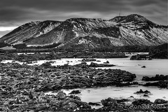 B&W Lagoon (Ron Stella) Tags: canon landscape volcano lava reykjavic iceland tokina hdr bluelagoon lavafields 1628 tokina1628